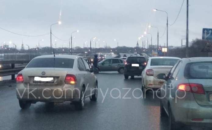 На Северной окружной дороге в Рязани вновь произошло ДТП
