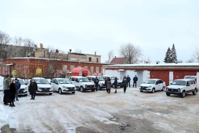 Новгородская область получила получила 24 автомобиля для медперсонала 17-ти райбольниц
