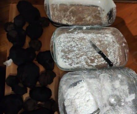 В Рыбновском районе задержали наркокурьера с крупной партией запрещённого вещества