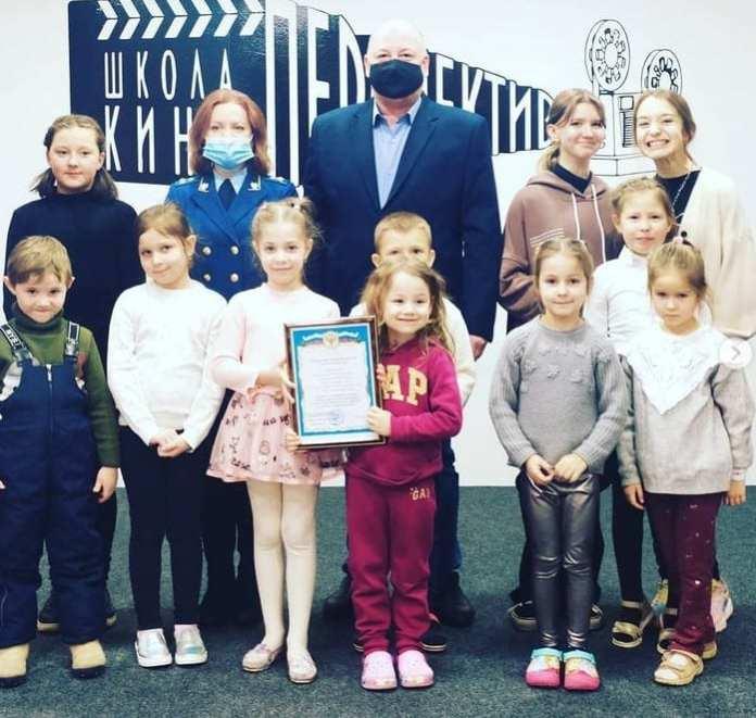 Рязанскую школу кино «Перспектива» посетил прокурор