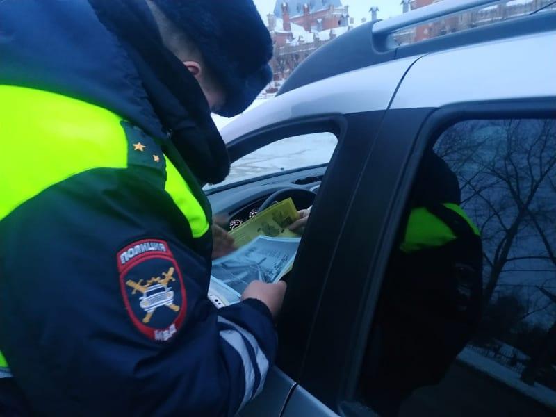 Рязанские полицейские проводят профилактическую акцию «Не спи за рулём»