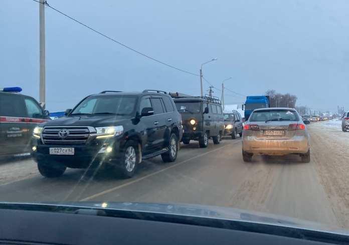 Из-за ДТП с участием военного КАМАЗа под Рязанью затруднено движение