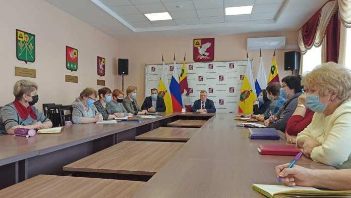 В администрации Скопинского района обсудили организацию обучения школьников