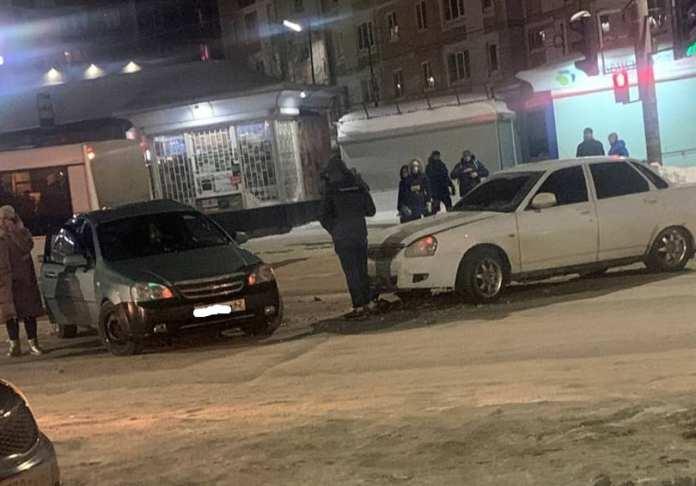 В Дашково-Песочне произошло жёсткое ДТП