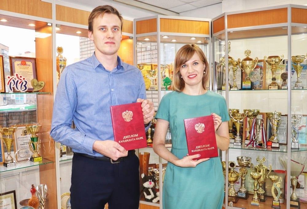В Рязани брат и сестра одновременно получили дипломы кандидата наук