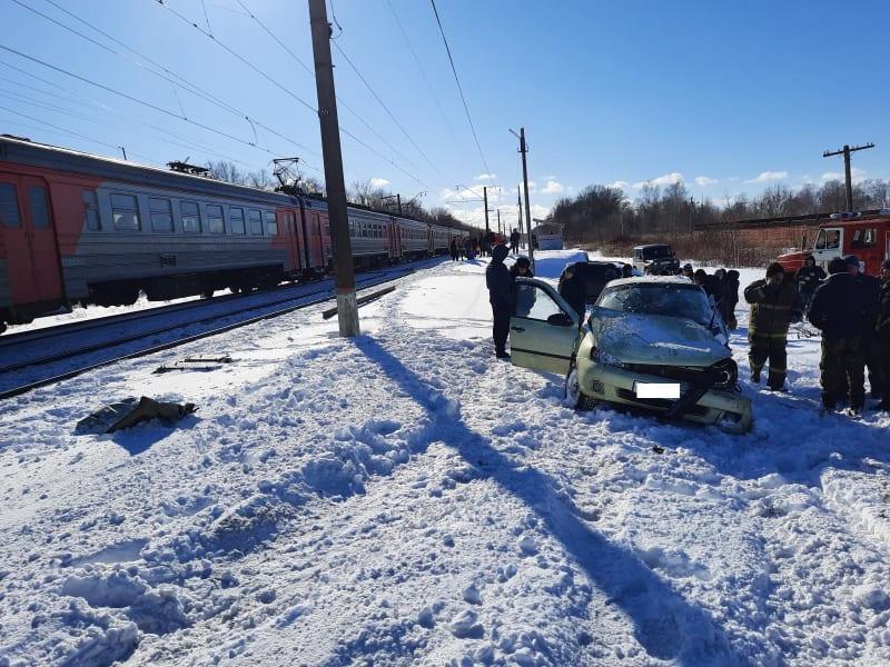 В полиции рассказали о ДТП на железнодорожном переезде в Шилове