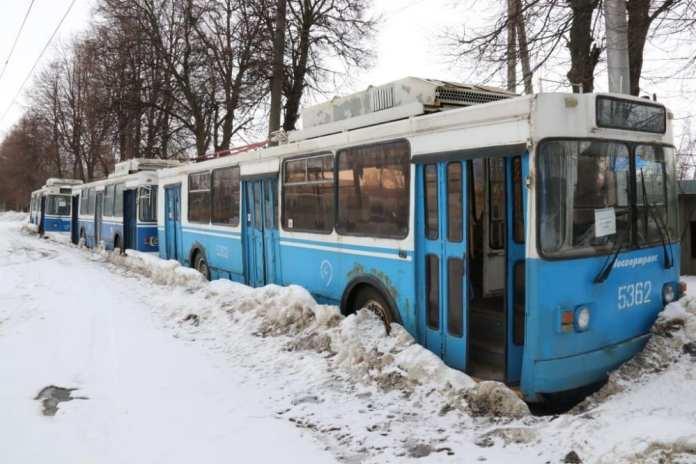 Из 78 подаренных Москвой троллейбусов работоспособными оказались только 35