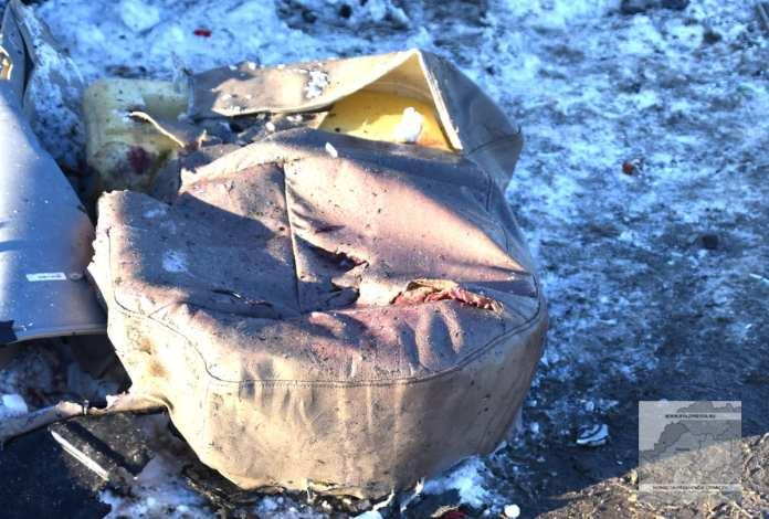 Опубликованы фото с места смертельного ДТП на трассе под Рязанью