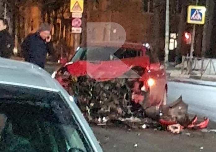 На улице Гагарина произошло серьезное ДТП