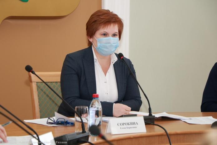 Елена Сорокина провела рабочее совещание