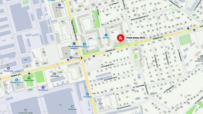 В Рязани по одной полосе улицы Новой открыли движение