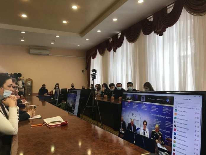 В Рязанском госуниверситете обсудили перспективы сотрудничества с Крымом и Донбассом