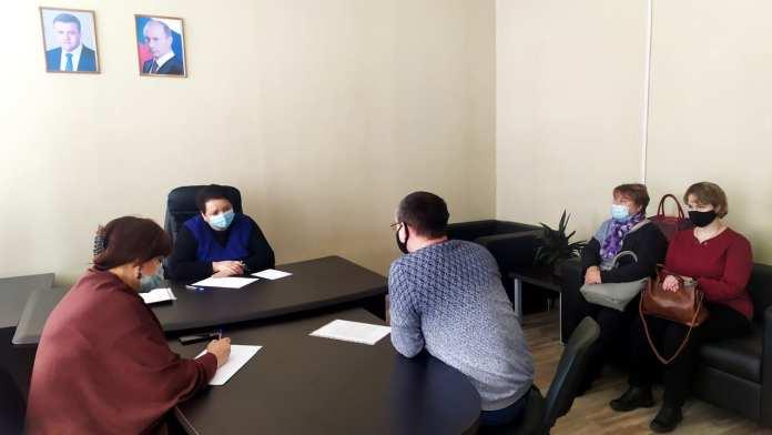Елена Митина провела личный прием граждан в Михайловском районе