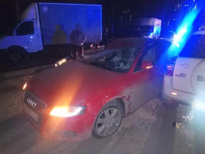 Две рязанки пострадали в массовой аварии на улице Шереметьевской