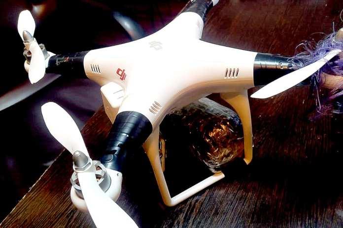 В рязанскую колонию с помощью дрона пытались доставить сотовые телефоны