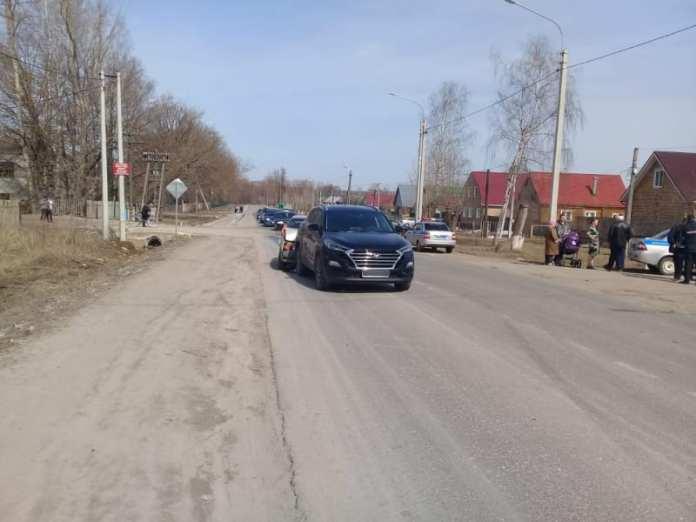 Один человек пострадал в пьяном ДТП в поселке Ермишь Рязанской области