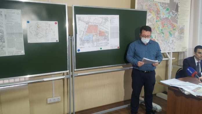 На публичных слушаниях обсудили строительство многоэтажек в центре Рязани