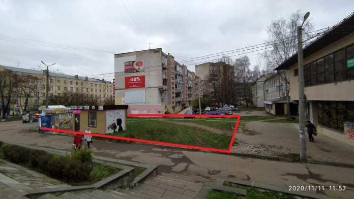 """Землю возле кинотеатра """"Современник"""" в Смоленске выставили на продажу"""