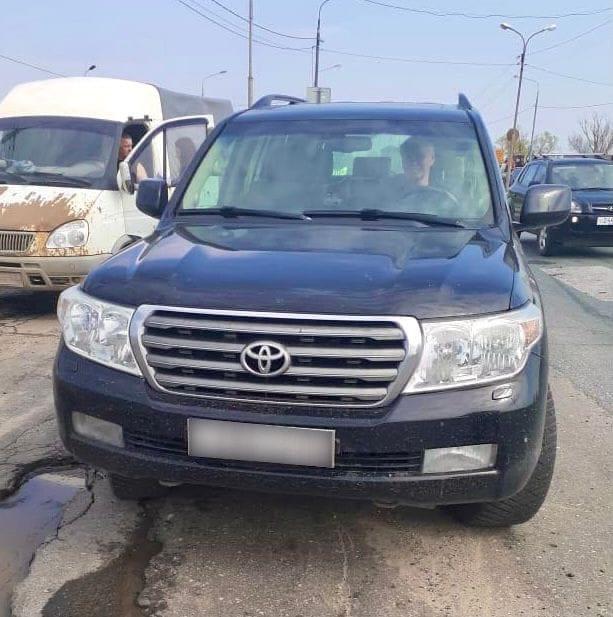 У рязанца арестовали автомобиль из-за неоплаченных штрафов ГИБДД