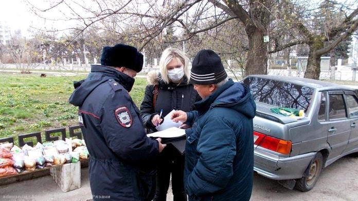 С начала года за незаконную торговлю оштрафовали почти 300 рязанцев