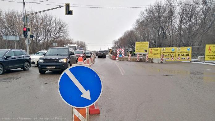 В Рязани организуют реверсивное движение по мосту через Трубеж