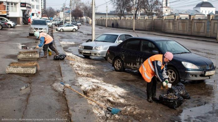 Рязанские коммунальщики продолжают работать в круглосуточном режиме