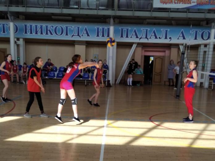 В Скопинском районе прошли соревнования по волейболу