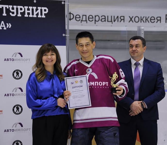 В Рязани состоялось закрытие эксклюзивного регионального хоккейного турнира дивизион «Любитель 50+» «Кубок памяти С.С. Козырева»