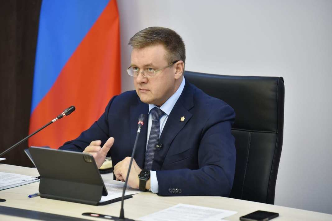 Николай Любимов принял участие в заседании молодежного правительства Рязанской области