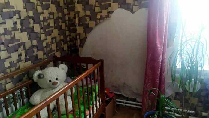 Жители Скопинского района показали депутату Госдумы, как живут в квартирах с плесенью