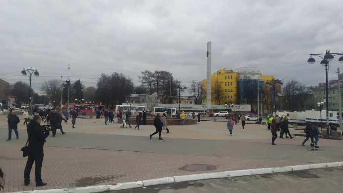 «ОВД Инфо» сообщил число задержанных на несанкционированной акции в Рязани