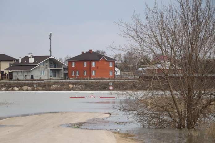 6 низководных мостов подтоплено в Рязанской области