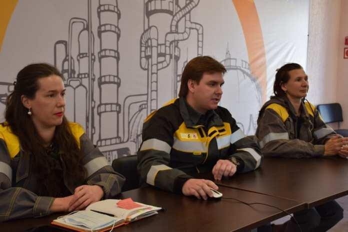 Специалисты РНПК рассказали студентам о раздельном сборе отходов и очистке сточных вод