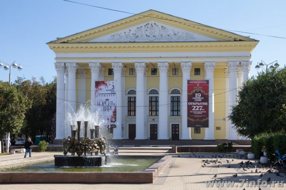 Депутат облдумы рассказал о ходе ремонта драмтеатра Рязани