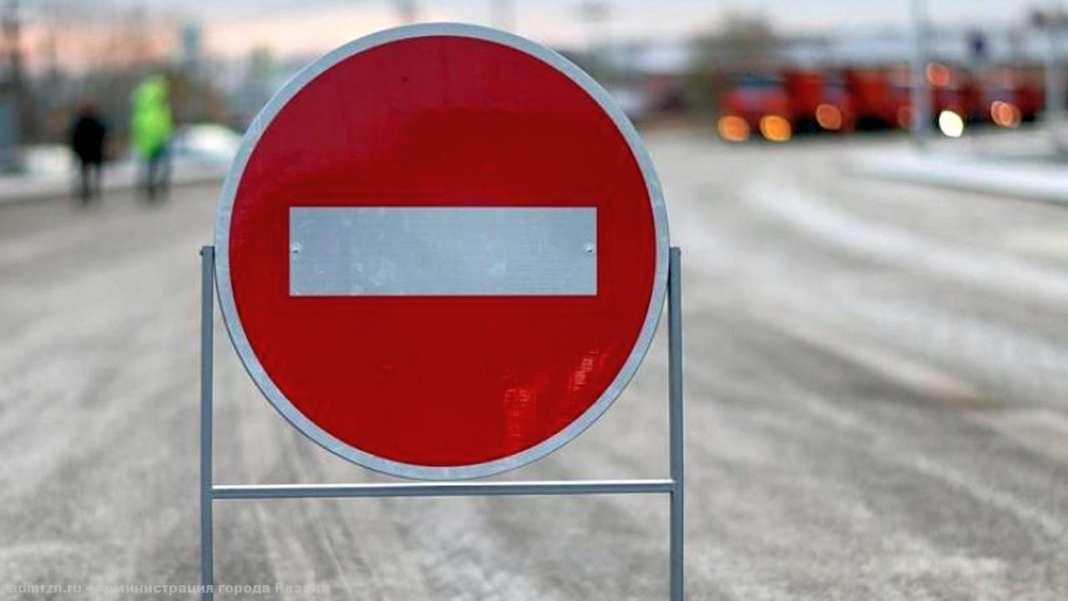 Движение по Касимовскому шоссе снова закроют на ночь