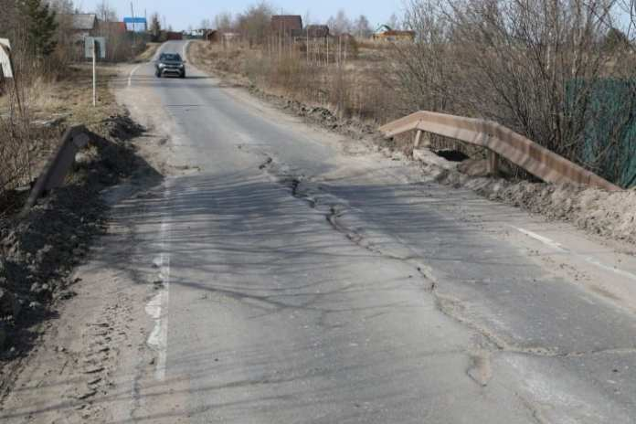 С 20 мая часть Кудемского шоссе в Северодвинске будут перекрывать ежедневно из-за ремонта