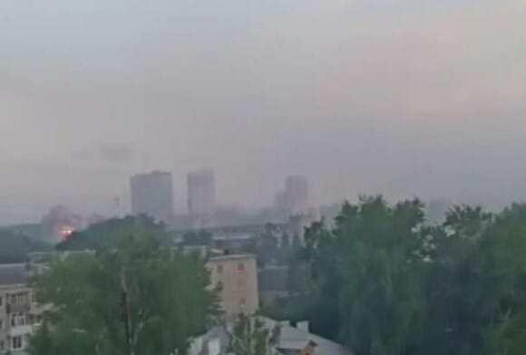 Из-за пожара на свалке Рязань накрыло дымом