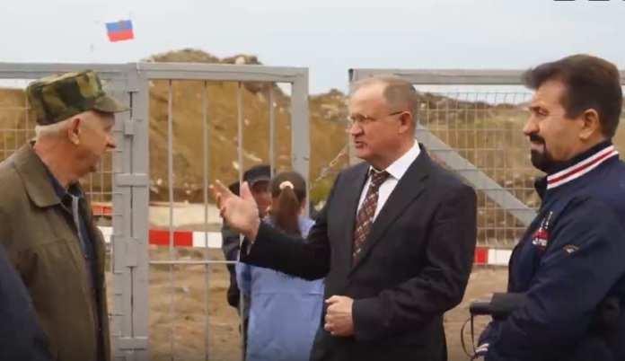 Свалку в Рыбновском районе вновь проверили на размещение радиоактивных отходов