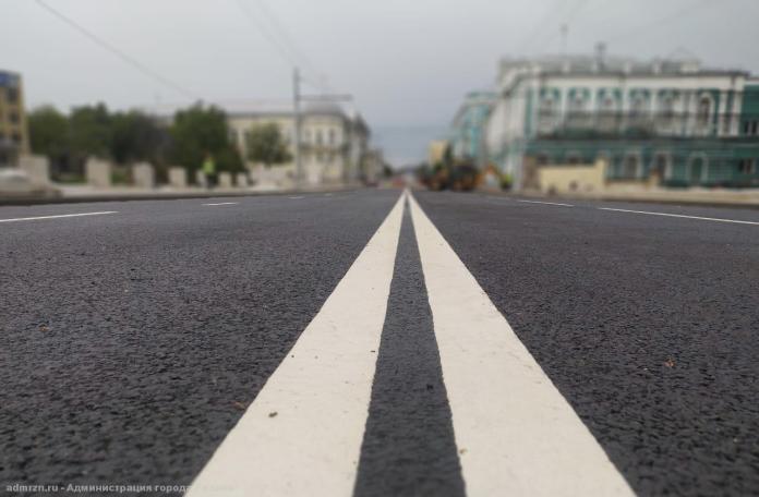 За неделю в Рязани отремонтировали свыше 1 500 квадратных метров дорог