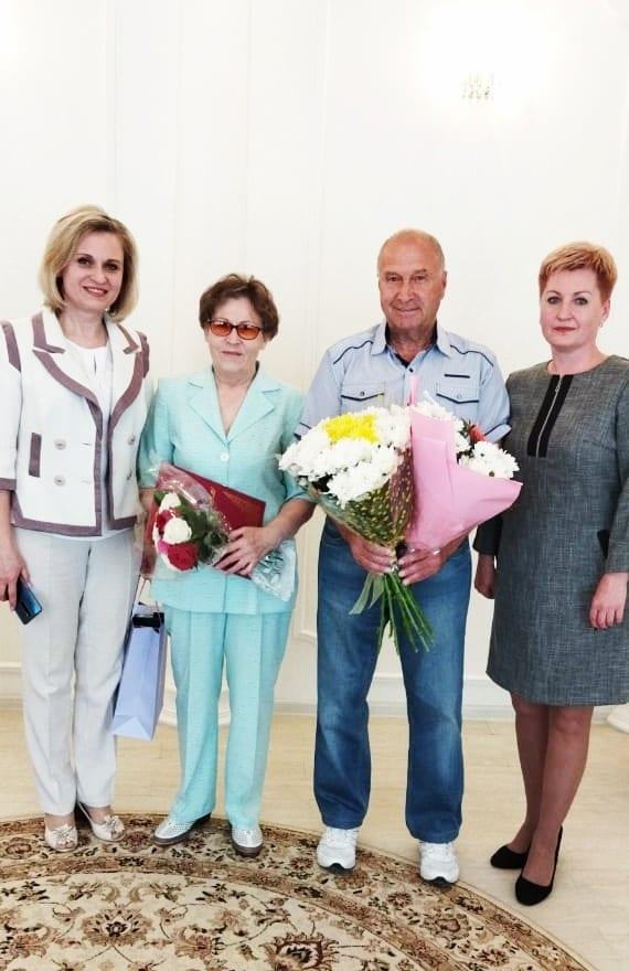 Супруги из Касимовского района отметили золотую свадьбу