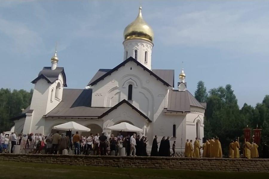 В Касимовском районе освятили новый храм