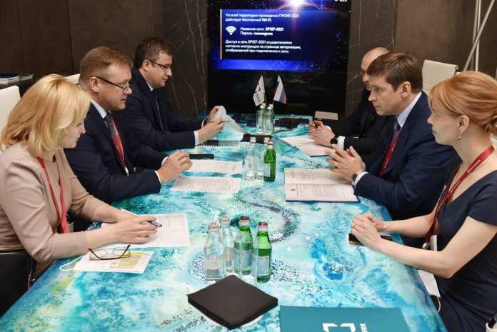 Николай Любимов обсудил вопросы сотрудничества с ГК «Ростех» и АО «Росагролизинг»