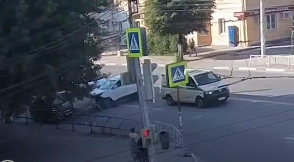 Массовое ДТП в Горроще попало на видео