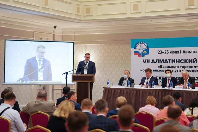 Николай Любимов выступил с докладом на открытии Алматинского бизнес-форума
