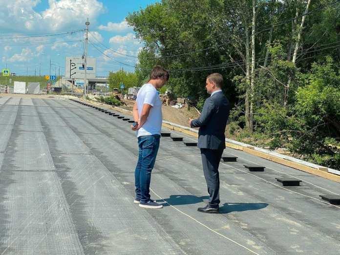 Укладку асфальта на мосту через Трубеж начнут 16 июня