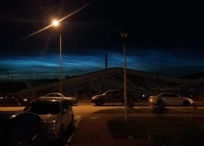 Серебристые облака сфотографировали над Рязанью