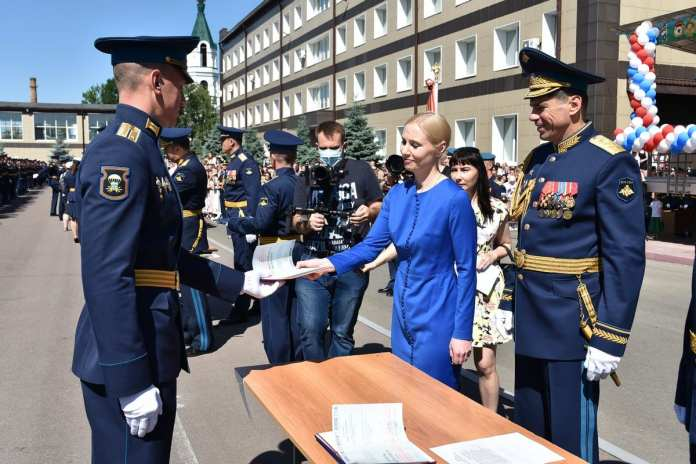 В Рязанском десантном училище прошёл выпускной