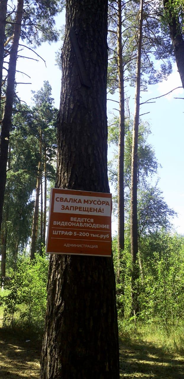 Рязанец сфотографировал свалку на Урженском озере