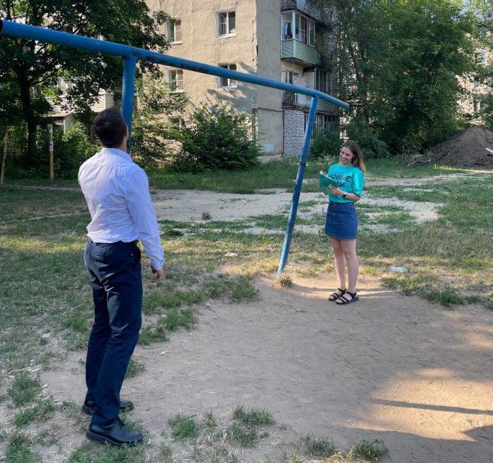 Активисты проинспектировали спортивные площадки Рязани