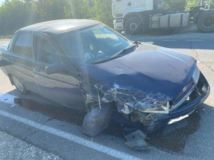 """В аварии """"двенадцатой"""" и """"десятой"""" в Рязанском районе пострадала женщина"""